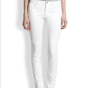 Joe's Jeans The Skinny Fit Annie Style White